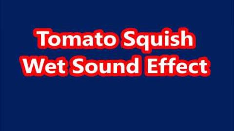 Tomato Squish Wet Sound Effect
