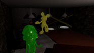 Possessed trophies mickey dipper entrance room