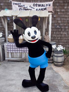 Oswald the Lucky Rabbit Suit