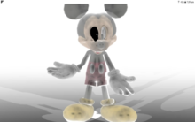 Abandoned Normal Mickey