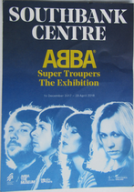 ABBA Super Troupers Flyer Front