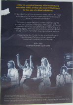 ABBA Super Troupers Flyer Back