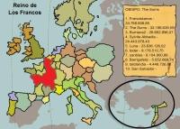 Mapa del Reino de los Francos