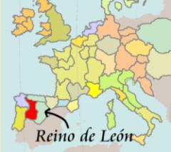 Mapa Reino de León