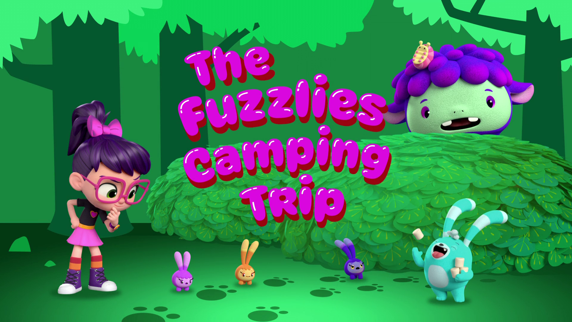 The Fuzzlies Camping Trip