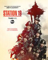 Station 19 season 4 poster