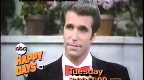 Happy Days Promo - May 6, 1984
