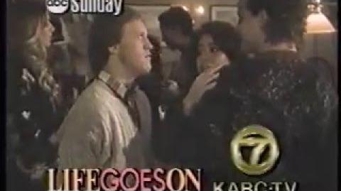 Life Goes On 1990 Promo