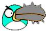 Spike Boomerang Bird