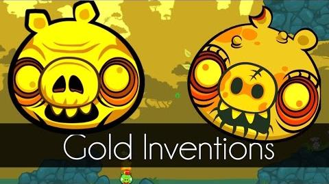 Bad Piggies - GOLD INVENTIONS (Field of Dreams) - Request