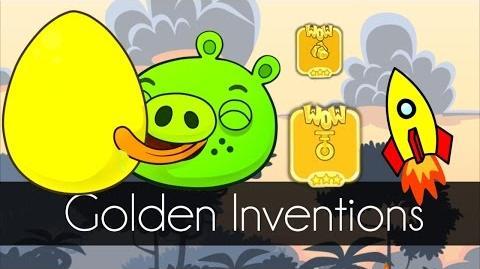 Bad Piggies - GOLDEN INVENTIONS (Field of Dreams) - Part 1