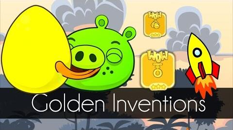 Bad Piggies - GOLDEN INVENTIONS (Field of Dreams) - Part 1
