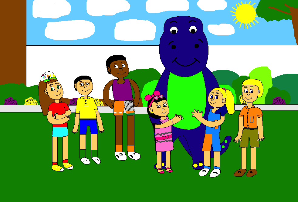 Barney and the Backyard Gang's Three Wishes (CGI Remake ...