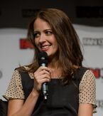 Amy Acker at Fan Expo 2015 (26841033473) (cropped)