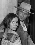 Mark Slade Barbara Hershey High Chaparral 1968