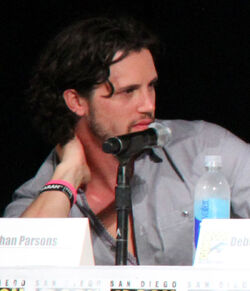 Nathan Parsons, San Diego Comic Con, July 2014