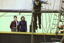 Once-Upon-A-Time-BTS-David-jumps-overboard