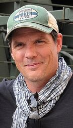 Paul Johansson at Camp As Sayliyah, Qatar
