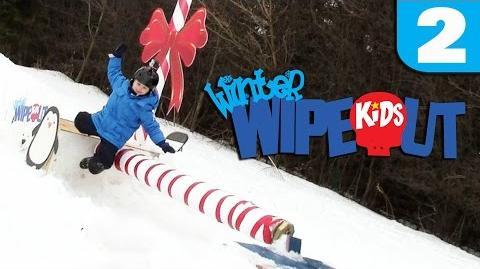 Winter Wipeout Kids - Episode 2