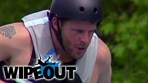 Policeman Dominates Obstacle Course Wipeout