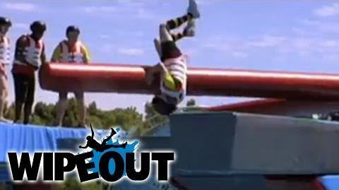 Double Cross Slam Flip Wipeout