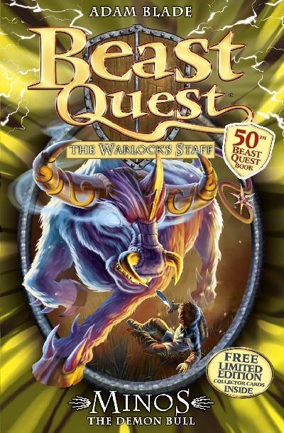 minos the demon bull  a beast quest wiki  fandom powered