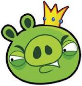 King pig ANGRY PIGS
