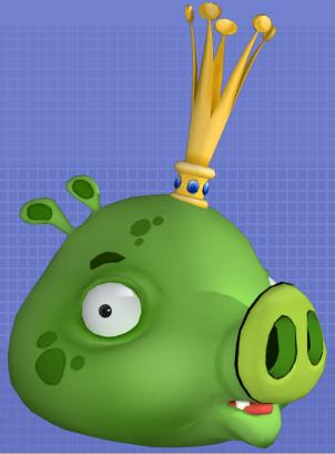 CGI King Pig