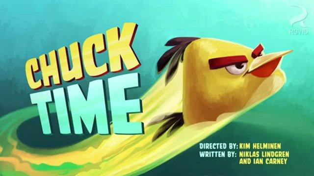 Angry Birds Toons Episode 1 - Chuck Time