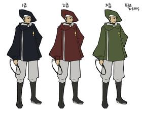 Dragon knight uniforms
