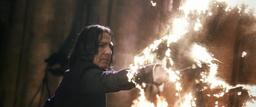 Snape Using Diasarming Spell
