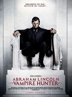 Abraham lincoln vampire hunter poster a p