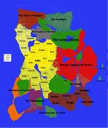 Calernia Map
