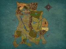 Map of Calernia by JHajek