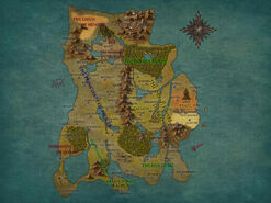 Map of Calernia by JHajek