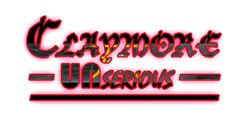 Claymore Unserious Logo (Glossy)