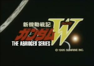 Gundam Wing Abridged Logo