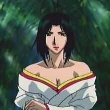 Samurai Deeper Kyo Sagas - Lady Okuni Character Profile Picture
