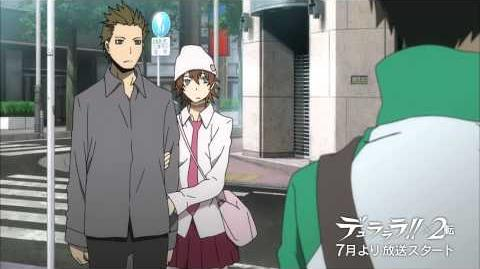 DURARARA!! X 2 Second Arc Trailer