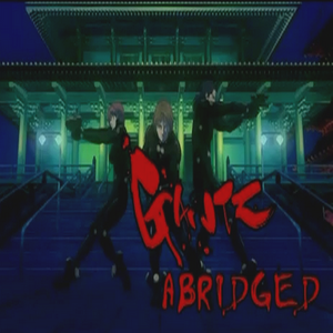 Gantz Abridged title block