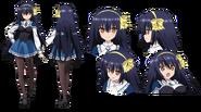 Tomoe Tachibana Character Design
