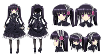Sakuya Tsukumo Character Design