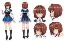 Miyabi Hotaka Character Design