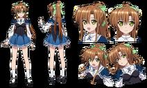 Imari Nagakura Character Design