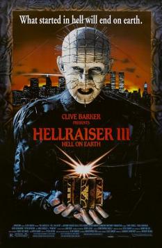 Hellraiser III poster