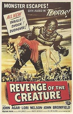 Revenge of the Creature poster