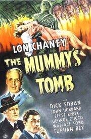 The Mummy's Tomb poster