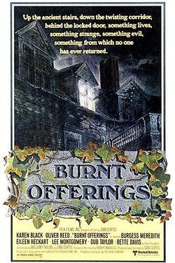 Burnt Offerings poster