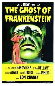 The Ghost of Frankenstein poster 2