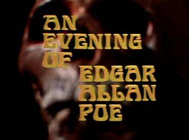 An Evening of Edgar Allan Poe title card